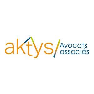 Cette image représente le logo de Aktys avocats associés Gaëlle Battavoine