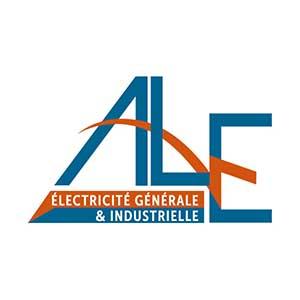 Cette image représente le logo de ALE électricité générale & industriel Sophie Meriannele