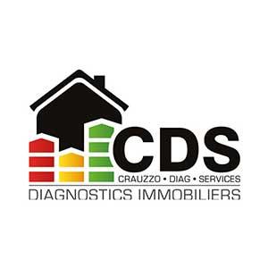 Cette image représente le logo de CDS diagnostics immobiliers Crauzzo Diag Services