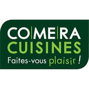 Cette image représente le logo de Comera Cuisines