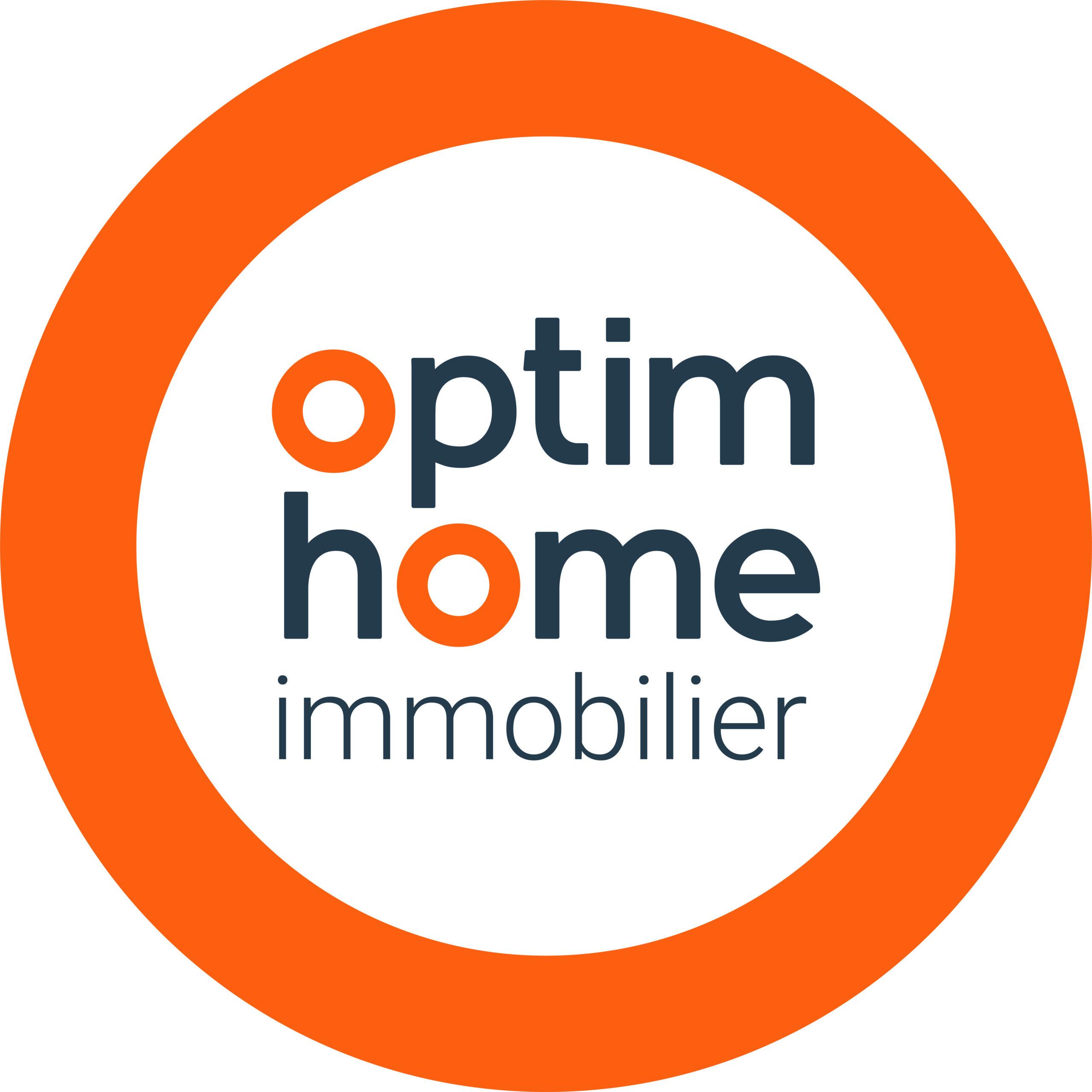 Cette image représente le logo de Optimhome immobilier Julie Timon