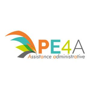 Cette image représente le logo de PE4A Assistance Administrative Pascale Ewangelista